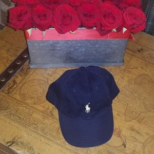 Polo Navy blue hat